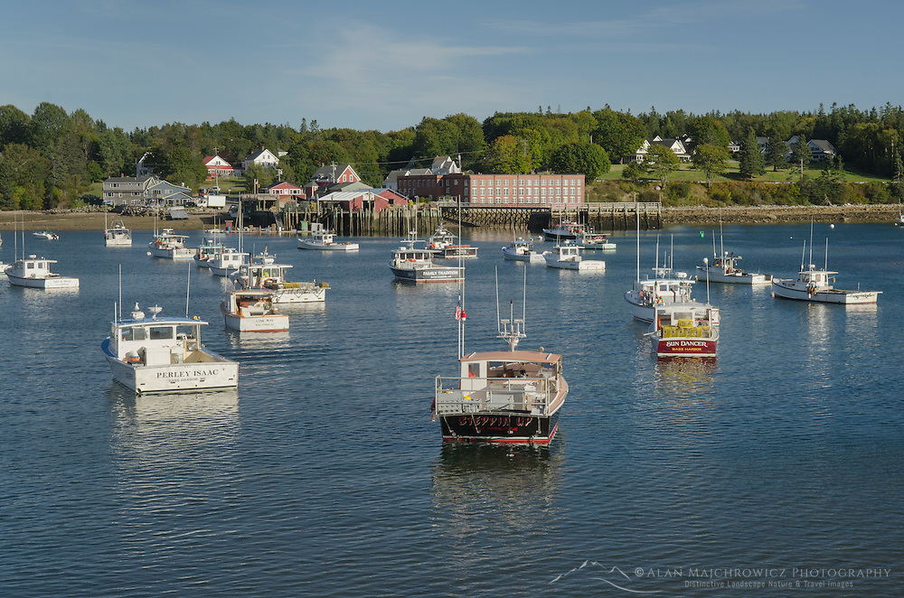 Lobster boats, Bass Harbor Maine