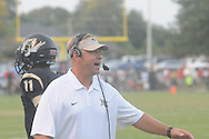 Northeast Community College assistant coach Mike Markuson vs. Northwest Community College in Senatobia, Miss. on Thursday, September 19, 2013.