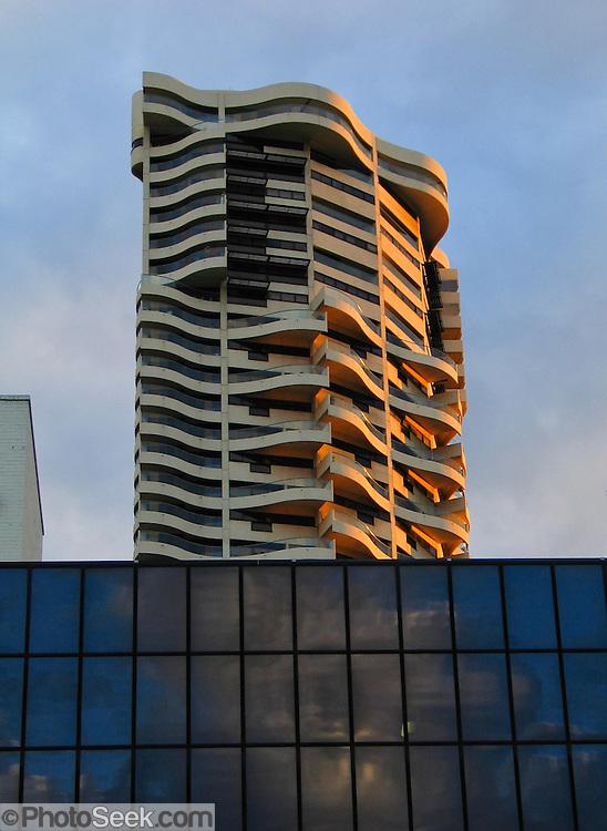 Kings Cross skyscraper, Sydney, New South Wales (NSW), Australia.