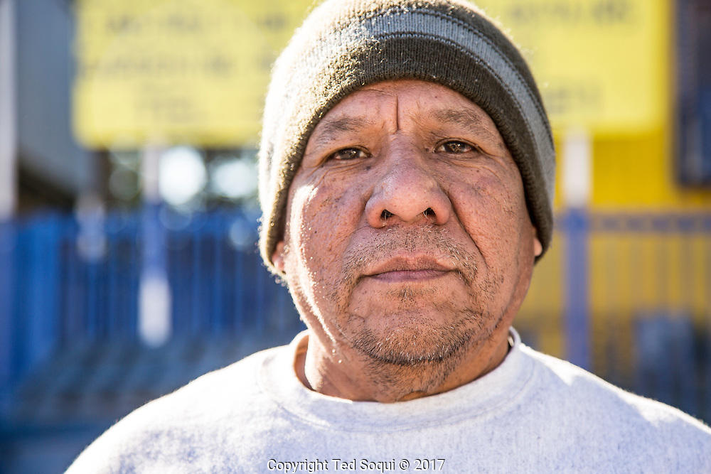 Cypress Park Community Job Center.<br /> Raul Mendoza, day laborer.