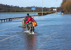 FEB 08 2014 Floods in Egham
