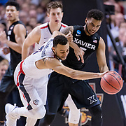 Gonzaga beat Xavier March 25 to advance to the first Final Four in school history. (Photo by Edward Bell)