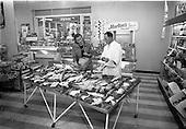 1964 - Charlie Morton's Fish Shop at Dunville Avenue, Ranelagh