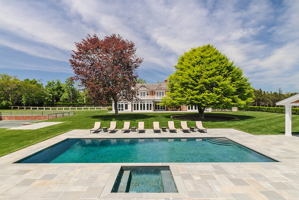 Swimming Pool Cross Hwy Long Island East Hampton New York Jake Rajs Photography