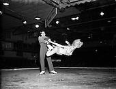 1955 - Ice skating at the National Stadium
