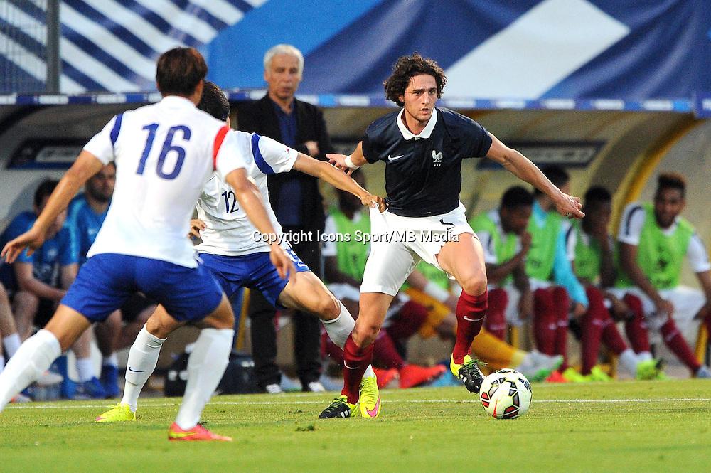 Adrien RABIOT - 11.06.2015 - Football Espoirs - France / Coree du Sud - match amical -Gueugnon<br /> Photo : Jean Paul Thomas / Icon Sport