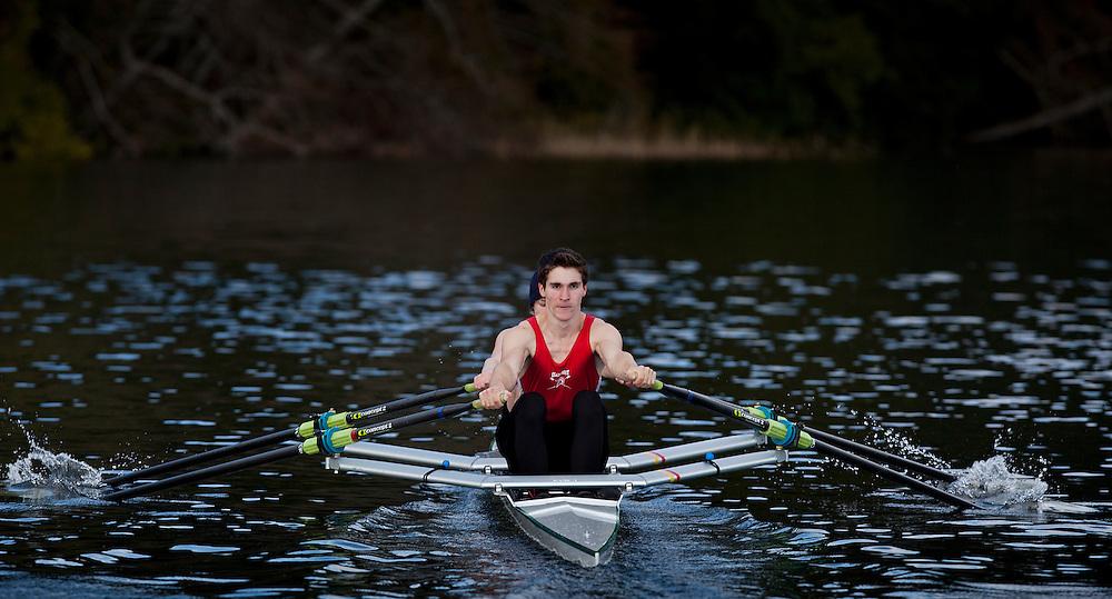 Claremont Rowing CSI photo Elk Lake picture