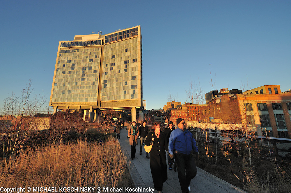 High Line and Standard Hotel