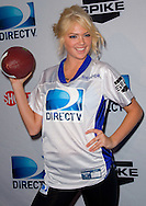 Sports Illustrated Swimsuit Issue cover girl Kate Upton seen at the Direct TV Beach Bash during Super Bowl XLVI activities in Indianapolis, Indiana.