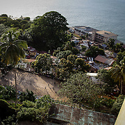 View from the Ducor Hotel, Monrovia, Liberia, 2012.