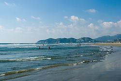 Beach in Acapulco Mexico.