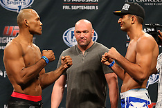 September 4, 2014: UFC Fight Night 50 Weigh-In