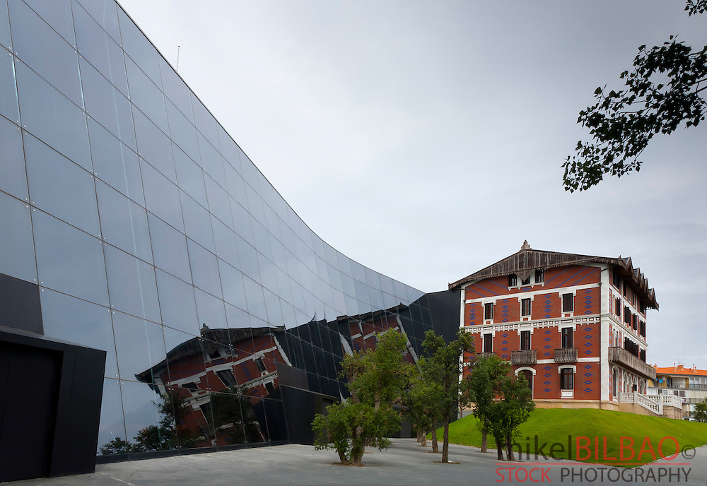 Balenciaga museum. (Cristobal Balenciaga, fasion designer). Getaria, Gipuzkoa, Basque Country, Spain.
