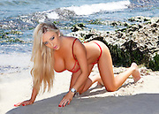 Jessica British beach and studio shoot Terry Lyon