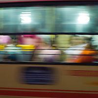 Early evening commuter bus. Chennai is the third largest commercial and industrial centre in India. It is considered to be the automobile capital of India, with a major percentage of the country?s automobile industry having a base in the city. Chennai is the second-largest exporter of IT services in India, behind Bangalore and is a base for the manufacture of hardware and electronics, with many multinational corporations setting up plants in its outskirts. The city faces problems with water shortages, traffic congestion and air pollution.