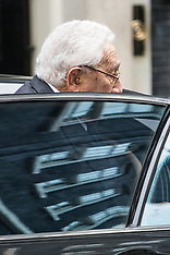 2016-10-25 Henry Kissinger visits Downing Street