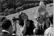 04/07/15 - BESSE EN CHANDESSE - PUY DE DOME - FRANCE - Mariage de Marie et Nicolas - Photo Jerome CHABANNE