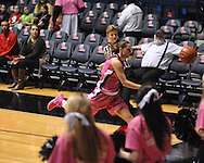 "Ole Miss vs. Georgia in women's basketball at the C.M. ""Tad"" Smith Coliseum in Oxford, Miss. on Sunday, February 24, 2013. Georgia won 73-54."