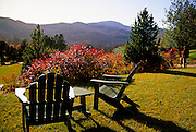 Image of the grounds of the Trapp Family Lodge in Stowe, Vermont, American Northeast