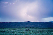 Great Sand Dunes National Park, lightning