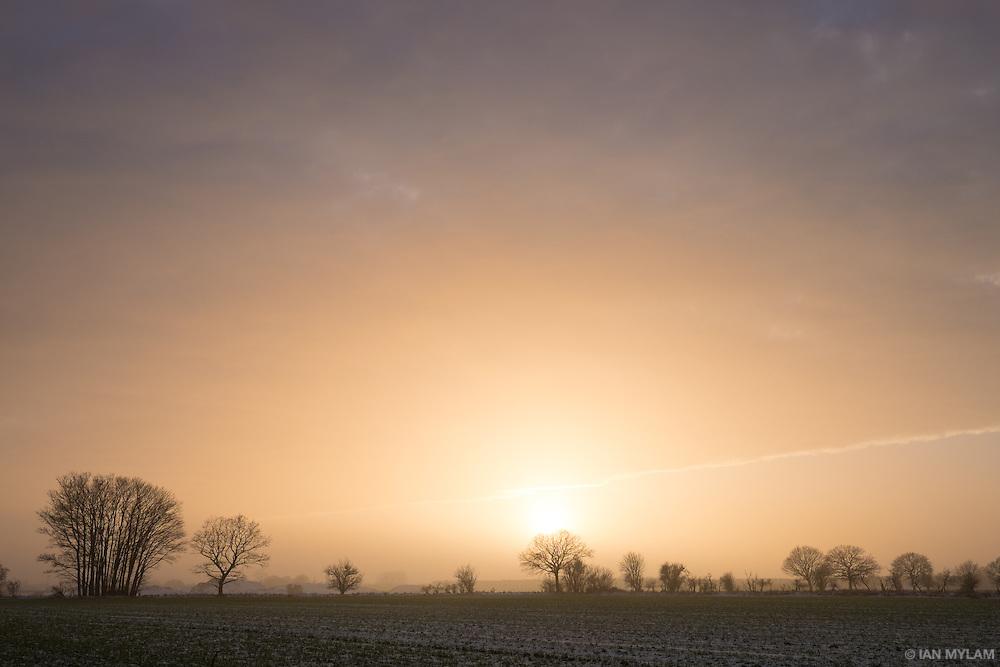 Thirty minutes to sunset - Birkum, Denmark