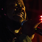 Reggae Artist Jepther McClymont AKA Luciano the messenger performs on stage during The 19th Annual Bob Marley People's Festival Saturday July 27, 2013, at Tubman-Garrett Riverfront Park in Wilmington Delaware
