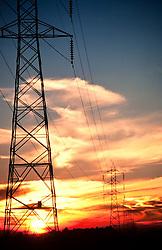 rede de alta tensao. Brasil./Electricicty pylons. Brazil