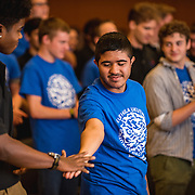 Performance of high school and GU choirs.  (Gonzaga photo)