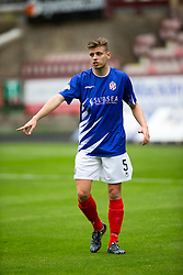 Cowdenbeath's Bradley Donaldson. <br /> Dunfermline 5 v 1 Cowdenbeath, Scottish League Cup game played today at East End Park.