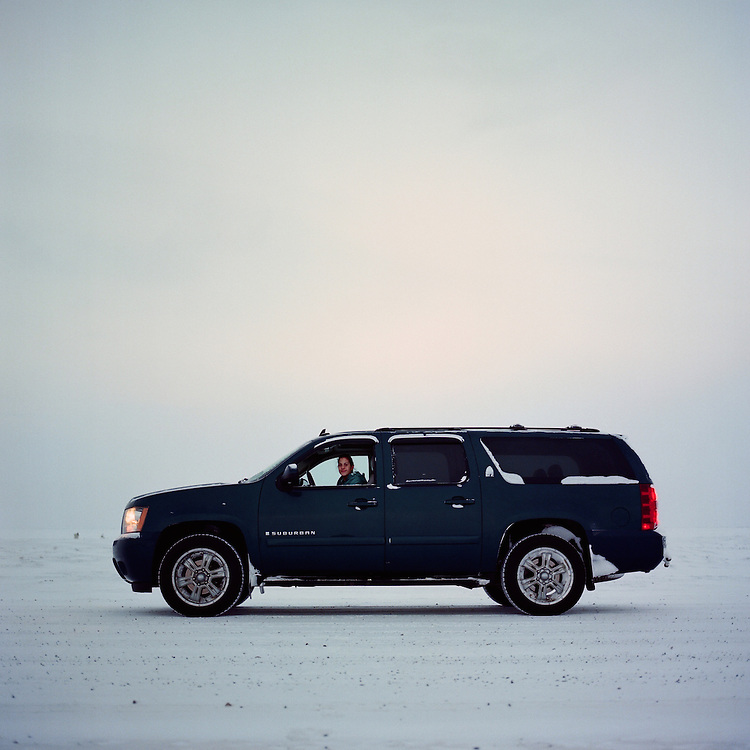 &ldquo;I graduated in May. I have been helping my dad do tourism for a year and a half now I think. He got me this truck in December for a graduation present. I do tours. I like to watch the bears&mdash;I like it, and I am going to get my six pack soon. After I go to the Tribal College in Barrow [Alaska], I am going to come back and work again with my dad, and hopefully after I am done working I am going to go for my six pack (a six-pack captain license).<br /> <br /> I grew up partly in Canada. I was six when I moved here. It was difficult at first. I missed family, I couldn&rsquo;t cope with school. But, I got through it. It&rsquo;s change, and it&rsquo;s hard, but it&rsquo;s change. It feels good. I love this village. My favorite part about this village is whaling and hunting. I love going hunting in the spring. My least favorite part about this village is drama. We have drama&mdash;teenage village drama. I get hooked into teenage village drama way too much. [laughs]&rdquo;&ndash; Tori Inglangasak is Inupiaq and lives in Kaktovik, Alaska. Kaktovik has become a popular tourist destination to view polar bears.