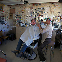 Barber Shop of Angel Delgadillo, Old Route 66, Seligman, Arizona, USA