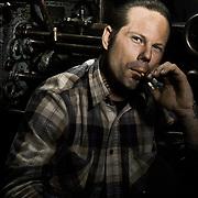 Steve Sellars, custom car builder. San Jose, CA   Garage Magazine