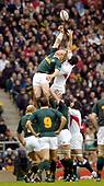 20041120  England vs South Africa, Autumn International,