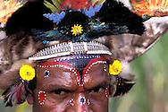 PNG, Tari Valley, Huly Wig Men Tribe, Hule Eyes