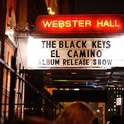 The Black Keys, Webster Hall