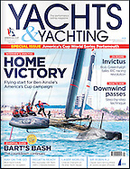Extremely pleased to see my sailing photography used on the front cover of Yachts and Yachting following the Americas Cup World Series event in Portsmouth. Professional photographer Christopher Ison based on the south coast, Hampshire UK.