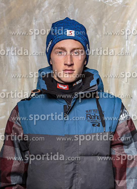 08.10.2016, Olympia Eisstadion, Innsbruck, AUT, OeSV Einkleidung Winterkollektion, Portraits 2016, im Bild David Pickl, Snowboard, Herren // during the Outfitting of the Ski Austria Winter Collection and official Portrait Photoshooting at the Olympia Eisstadion in Innsbruck, Austria on 2016/10/08. EXPA Pictures © 2016, PhotoCredit: EXPA/ JFK