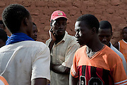 Ousman, a young malien migrant waiting for his tickets to Dirkou, Niger