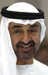 Sheikh Mohammed bin Zayed Al Nahyan, Crown Prince of Abu Dhabi and Deputy Supreme Commander of the  UAE Armed Forces .  Photo by: Stephen Lock/i-Images