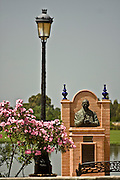 01.07.2008 Spanish sanctuary El Rocio in Andalucia near Donana photo Piotr Gesicki John Paul II monument
