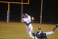 Water Valley's L.J. Hawkins (10) vs. Aberdeen in Aberdeen, Miss. on Friday, October 19, 2012. Aberdeen won.
