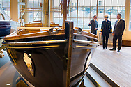 HRH The Princess Royal during her commemorative visit to Boathouse 4 at Portsmouth Historic Dockyard today. The Boathouse opened last year following a &pound;5.7million restoration and features a boatbuilding academy, The Forgotten Craft exhibition, family activities and Midships restaurant.<br /> Picture date: Monday March 20, 2017.<br /> Photograph by Christopher Ison &copy;<br /> 07544044177<br /> chris@christopherison.com<br /> www.christopherison.com