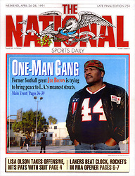 Jim Brown, The National Sports Daily, 1991