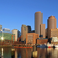 Boston Skyline Panoramas