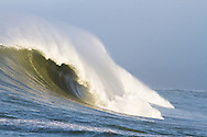 A giant wave at the 2010 Mavericks Surf Contest held in Half Moon Bay, California on February 13, 2010