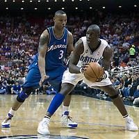 NBA - ORLANDO (USA) - 08/11/2008 -  .ORLANDO MAGIC V WASHINGTON WIZARDS (106-81) - MICKAEL PIETRUS / ORLANDO MAGIC, CARON BUTLER / WASHINGTON WIZARDS