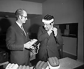 1970 Press Conference for a New Hurling Helmet