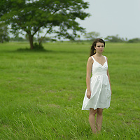 The beautiful Pacific Coast of Buenaventura hosts the new Bristol Hotel, immerses the visitor in an enchanting setting nestled between lush vegetation, lakes and the deep-blue waters of the Pacific Coast of Panama. The ultimate destination to discover a luxurious paradise.Young woman in her twentys wearing a white dress Pictured: Photo of a young woman.