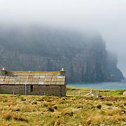 Hikers Bothy at Rackwick, Isle of Hoy, Orkney Islands Scotland