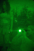Searching for Bigfoot in rural Alabama on October 19, 2013.